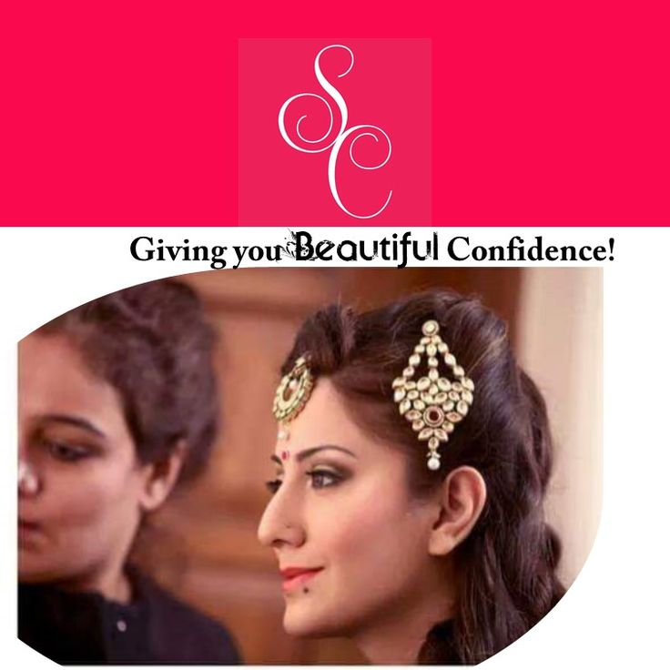 Giving you beautiful confidence!  SHIKHA CHANDRA- #HAIR AND #MAKEUP