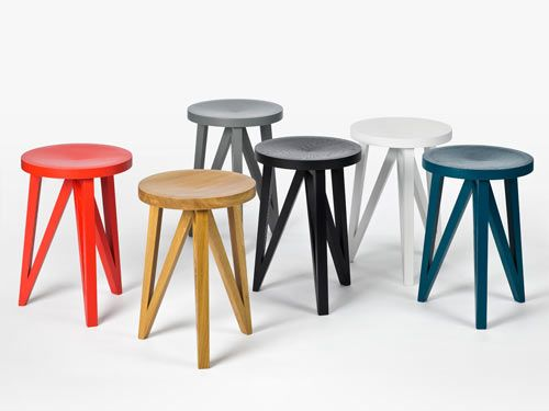 JL 1 and JL 4 Faber Stools by Loehr    Read more at Design Milk: http://design-milk.com/jl-1-and-jl-4-faber-stools-by-loehr/#ixzz1ohgVe9qb