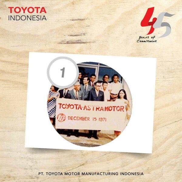 Tahukah kamu teman TMMIN, bahwa Ketika Indonesia mengadakan pemilu legislatif kedua di tahun 1971, di tahun itulah Toyota pertama kali didirikan di Indonesia.  #ToyotaFact #InfoTMMIN #TMMInspirasi