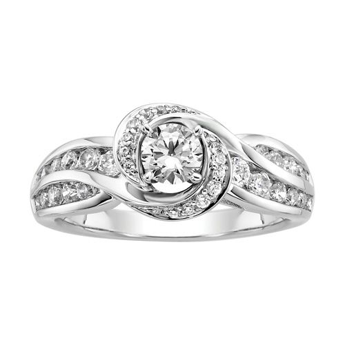 Simple Tried this one on at Fred Meyer Jewelers in LaCrosse yesterday