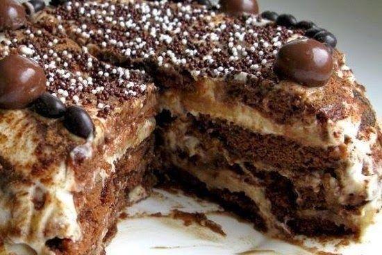 Лучшие кулинарные рецепты: Пряничный торт (без выпечки)!