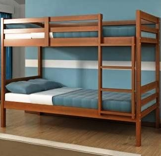 donco econo twin over twin bunk bed with justright style at a justright price the donco econo twin over twin bunk bed is justright for many a kidu0027s
