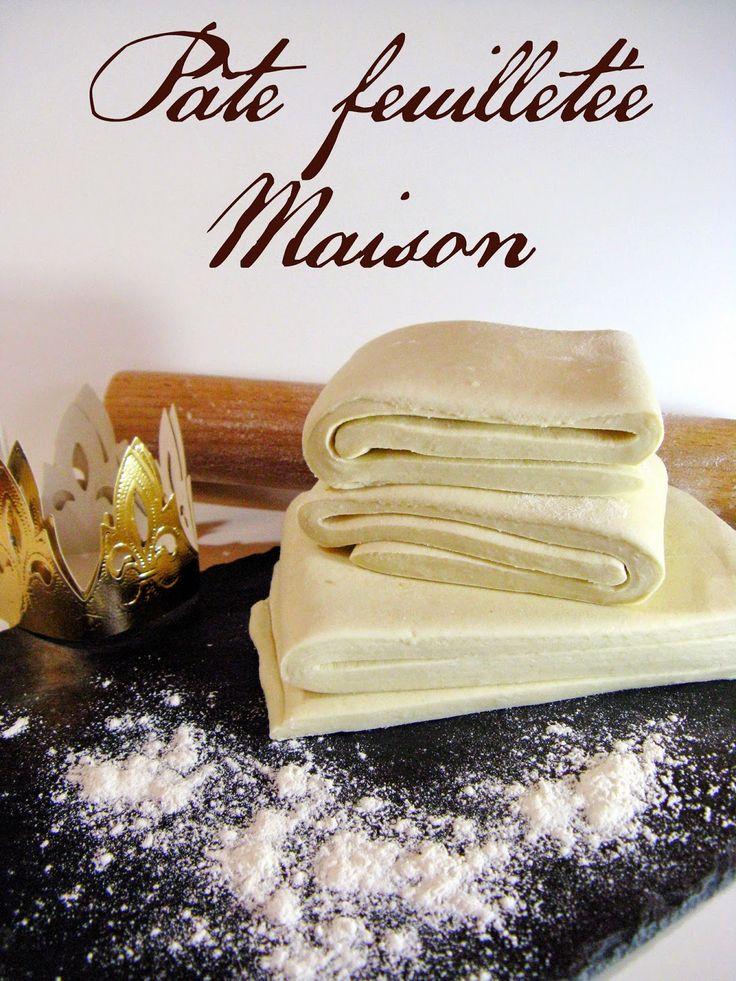 qui se décide enfin à feuilleter !!!       J'ai toujours entendu ma mère me dire que faire sa pâte feuilletée soi- même était i...