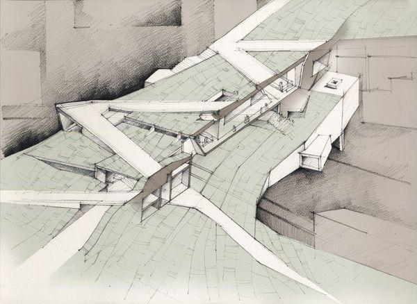 Drawings no. 2 by Adelina Popescu, via Behance