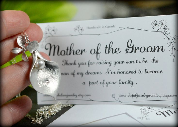 Wedding Day Gift For Bride From Mother In Law : Wedding Mother In Law Gift,Thank You For Raising The Man Of My Dreams ...