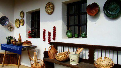 2009.10. - Szentendre village museum, it Und apartment house, old hungarian objects of use - Szentendrei skanzen, az undi lakóház, régi magy...