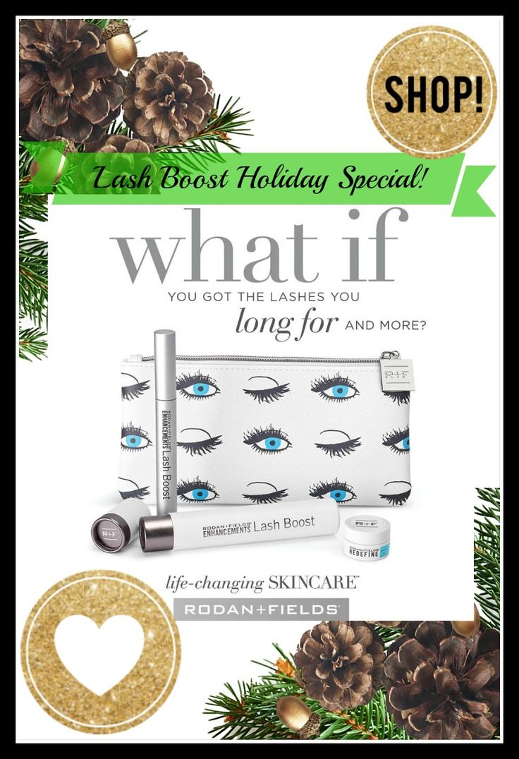 Want lush, longer-looking lashes? R+F Lash Boost™ serum available NOW and for a limited time comes with a FREE cosmetic bag and a FREE mini eye cream! Shop here: https://bebrilliant.myrandf.com/pages/lash-boost