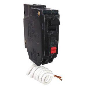 GE THQL1120GFT 20A 120/240V 1P GFCI Plug-In Circuit Breaker w/ Tester