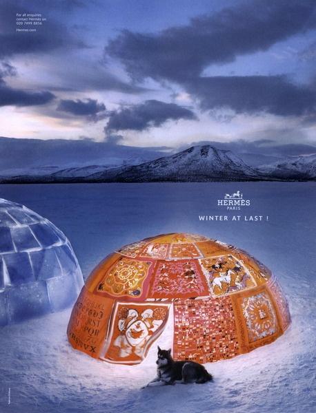 Hermès Ad Campaign Fall/Winter 2009 Shot #2