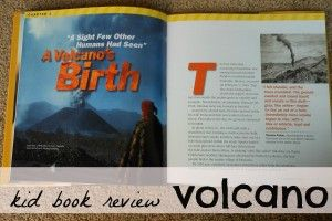 Volcano fact book review and a little reading tip. :)