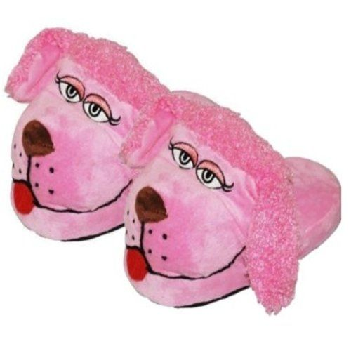 Magic Movers Bewegliche Slipper / Pantoffeln für Kinder (wie Stompeez) Zehn verschiedene Designs, Rosa - Pudel - Größe: UK Large (2-5) EU (34-36) - http://on-line-kaufen.de/magic-movers/31-33-eu-magic-movers-bewegliche-slipper-fuer-wie-5