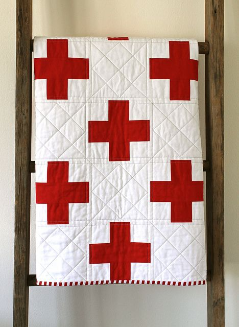 st. george's cross quilt.