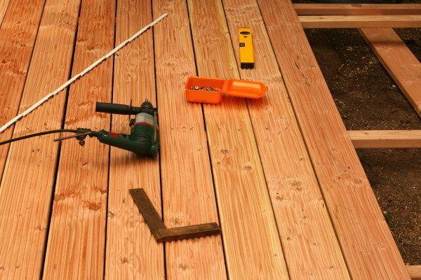 Holzterrassen Bauanleitung