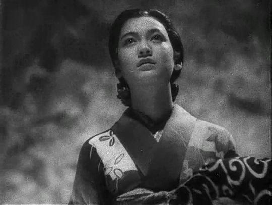 Setsuko Hara in The Daughter of the Samurai AKA Atarashiki Tsuchi (1937)