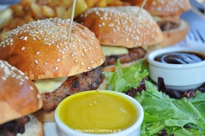 The Mini Burgers @ Gazi College