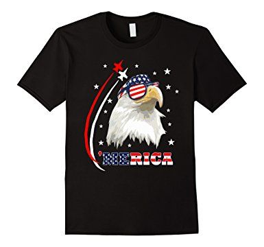 American Bald Eagle Merica Patriot T-Shirt