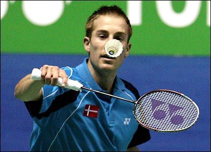 I love badminton. I started when I was four and still love it.