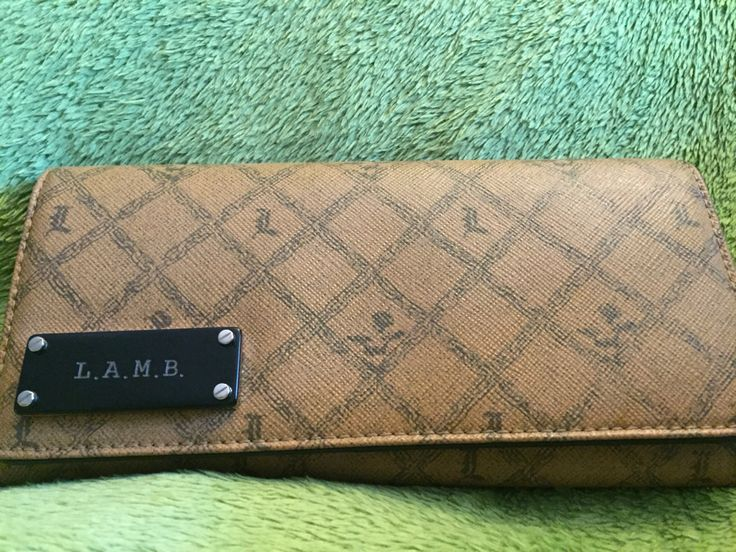L.A.M.B. Leather Wallet (Found at Value Village/Waterloo in EUC for $24.99 - 30% off = $17.49)