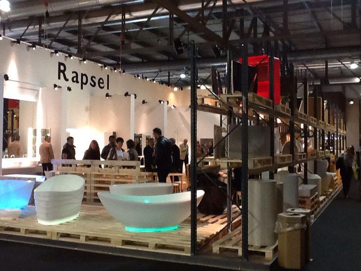 Rapsel booth at Salone Del Milano in Milano