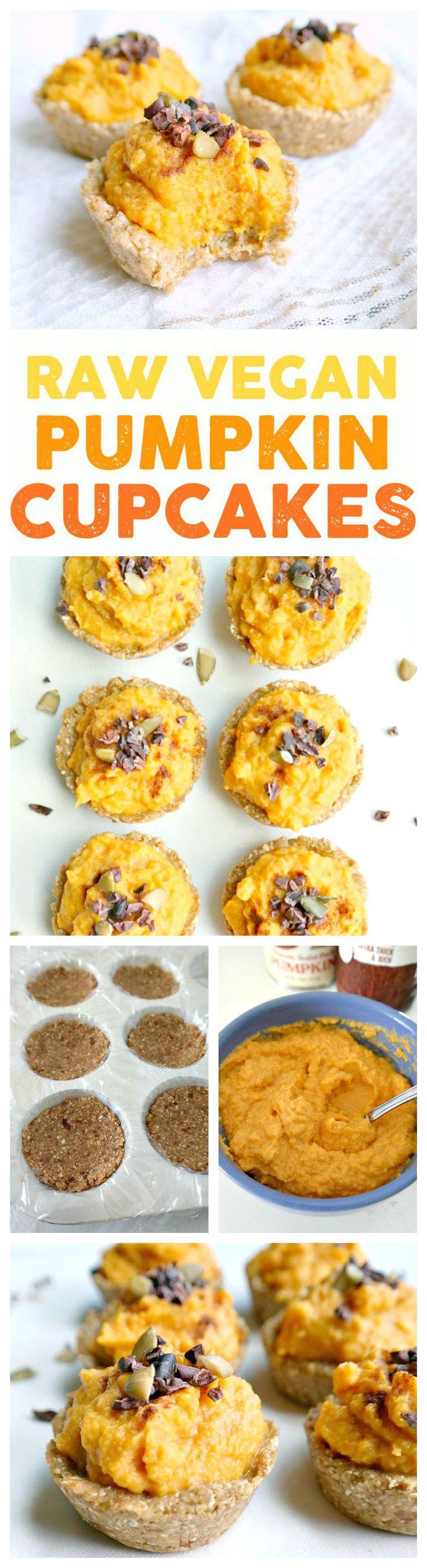 ... Cupcakes | Recipe | Pumpkin Cupcakes, Vegan Pumpkin and Raw Vegan