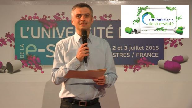 #TES15 Trophées de la #esante 2015, and the winner is…