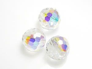 Crystal AB Swarovski Crystal 5003 Disco Beads 7mm  #Swarovski #crystal #5003 #jewelrysupplies #anybeads
