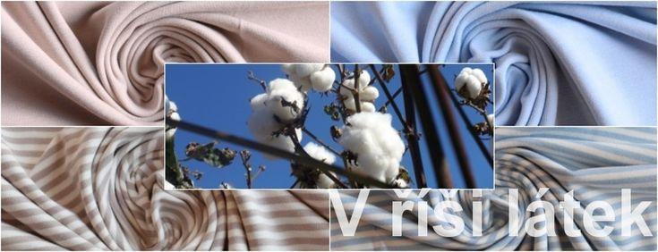 Organická bio bavlna s certifikací GOTS – šetrná nejen k Vám ale i k životnímu prostředí