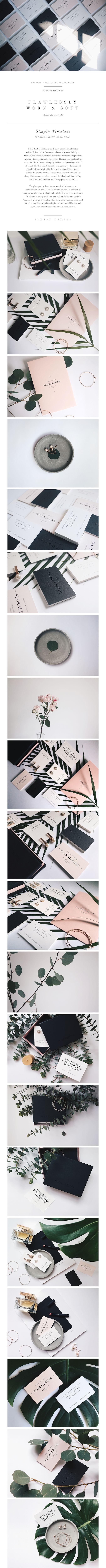 super beautiful. love this #design #branding #identity https://www.behance.net/gallery/26522655/FLORALPUNK