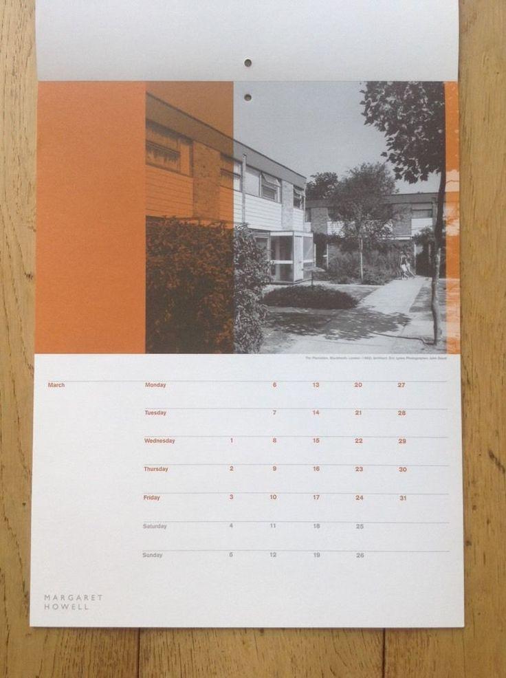 """Span Housing"" Calendar 2006 Produced By Margaret Howell in | eBay"