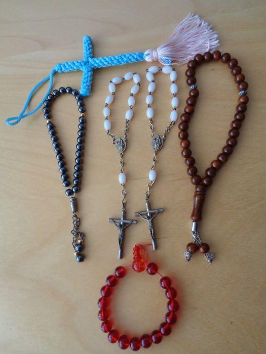 Rozenkransen - 2 stuks  Gebedskransen/Japa Mala - 3 stuks  EUR 47.00  Meer informatie