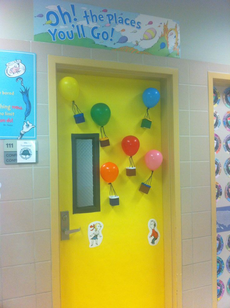 Oh The Places You Ll Go Classroom Bulletin Boards