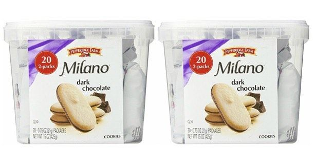 NO WAY!!! Pepperidge Farm Milano Cookie Tub Just $6.64 Shipped!