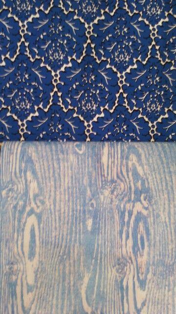 Quand les papiers Eley  Kishimoto cotoient le nouveau papier wood blue de Ellan Doran. En vente chez The Collection 33 rue de Poitou ou sur notre site www.thecollection.fr