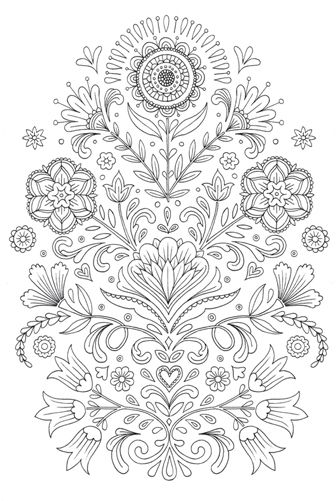 Colouring books on Behance