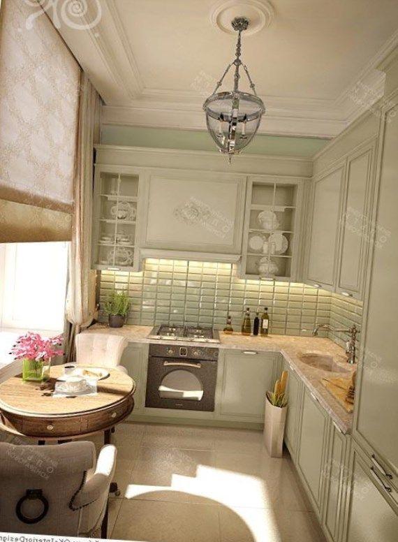 Прованс на кухне  это, в первую очередь, интерьер, направленный на уют, будто в городскую квартиру ворвалась французская ферма.