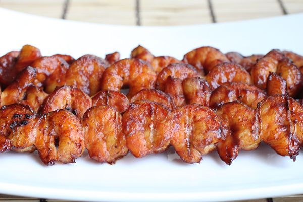 Smoked Barbecue Shrimp