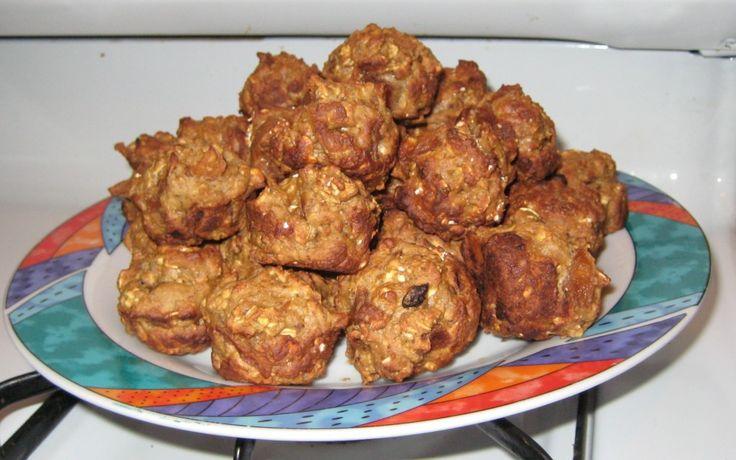 """Apple Choc Milk Bites – Lactation Mini Muffins"""