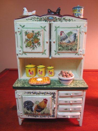 Chicken Themed Kitchen 468 best miniature - kitchens images on pinterest | miniature
