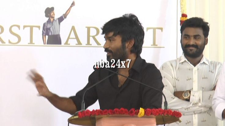 Actor Dhanush  Neruppuda Audio Launch | Sean Roldan has a great Future
