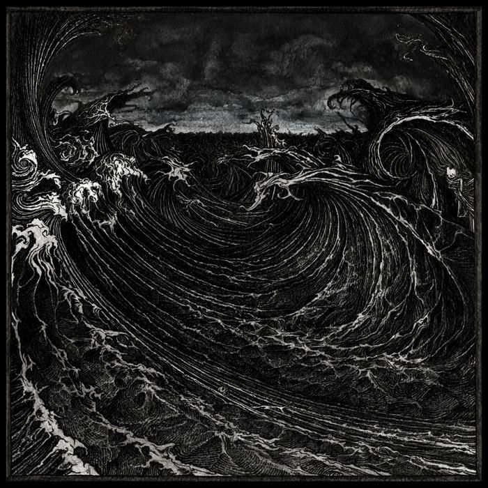 Necrovation, S/T cover art - Jonathan Hultén, 2012