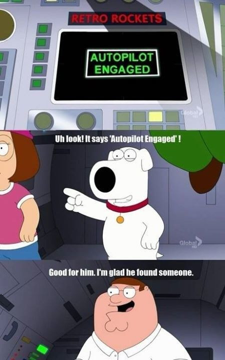 "When Peter misunderstood. | Just A Reminder That ""Family Guy"" Is Hilarious"