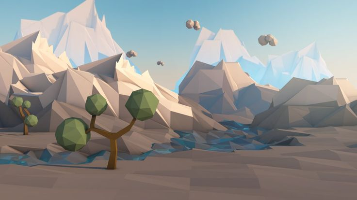 Low Poly Journey by CallMeGav