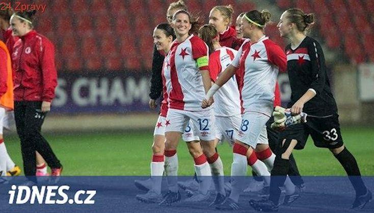 Fotbalistky Slavie nestačily na Wolfsburg, v Lize mistryň prohrály 0:5