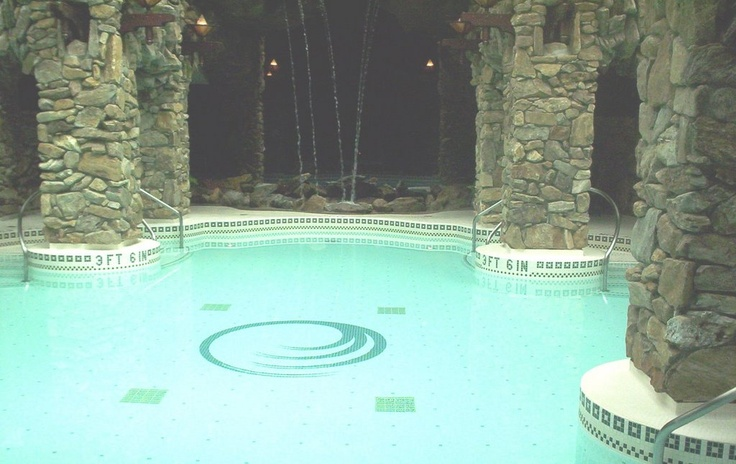 by far my favorite spa- Grove park Inn Spa in Ashville, North Carolina