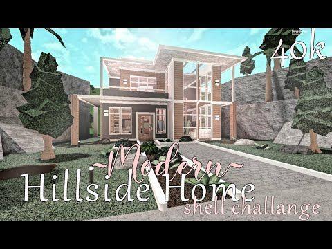 Mansion Bloxburg Roblox 92k Bloxburg Modern Hillside Home 40k Challenge W Elizibis And Ayreeb Youtube In 2020 Beautiful House Plans Family House Plans Luxury House Plans