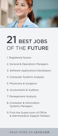 Did you job (or future job!) make the list?