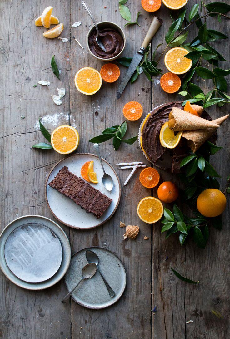 Vegan Chocolate Orange Cake + London Vegan Supperclub announcement - the Little Plantation blog