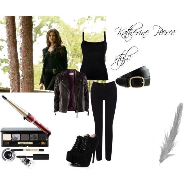 Katherine Pierce style by adiliadilia on Polyvore