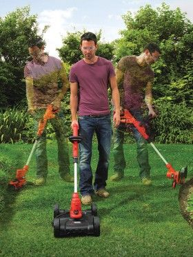 NEW Black & Decker 3 in 1 Trimmer, Edger and Mower All in One