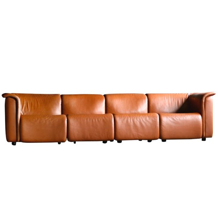Beautiful Large Modular Sofa By Wittmann Moebelwerkstaetten, Austria